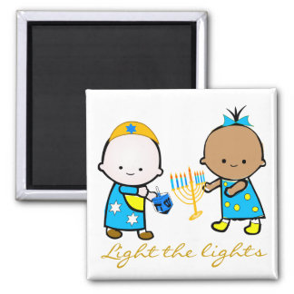 Holiday Babies Magnet - Chanukah