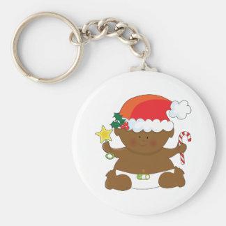 Holiday Baby Keychain