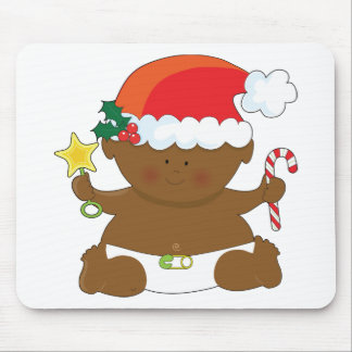 Holiday Baby Mouse Pad