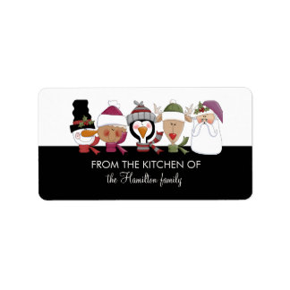 Holiday Baked Goods Labels