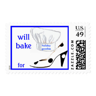 Holiday Baking Blackmail Postage