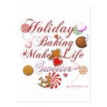 Holiday Baking Post Cards