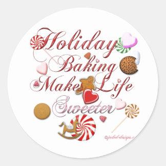 Holiday Baking Sticker