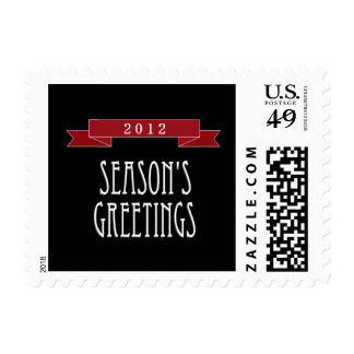Holiday Banner Holiday / Christmas Postage Stamps