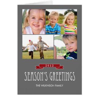 Holiday Banner Holiday Photo Card Greeting Cards