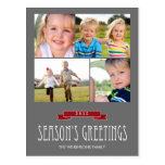 Holiday Banner Holiday Photo Card Postcard Post Cards