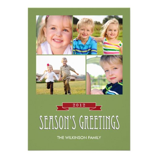 Holiday Banner Holiday Photo Cards