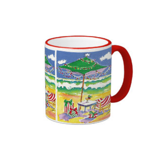 Holiday Beach Mug