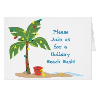 Holiday Beach Scene Card