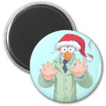 Holiday Beaker 2 2 Inch Round Magnet