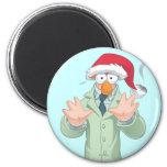 Holiday Beaker 2 Fridge Magnets