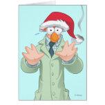 Holiday Beaker 2 Greeting Card