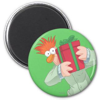 Holiday Beaker 2 Inch Round Magnet