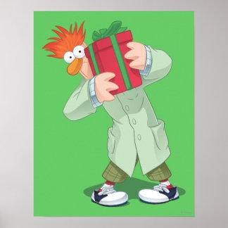Holiday Beaker Poster
