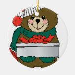 Holiday Bear Winter Stocking Destiny Gifts Ornament