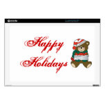Holiday Bear Winter Stocking Destiny Gifts Laptop Decals