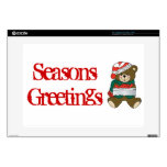 Holiday Bear Winter Stocking Destiny Gifts Decals For Laptops