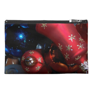 Holiday Bells & Bulbs Travel Accessory Bags