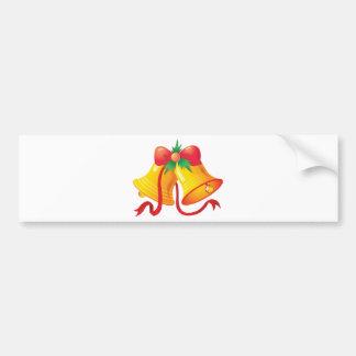 Holiday Bells Bumper Sticker