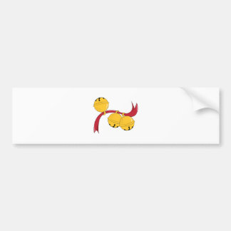 Holiday Bells Bumper Stickers
