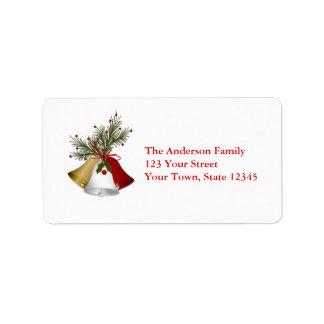 Holiday Bells, Pine Branch Label