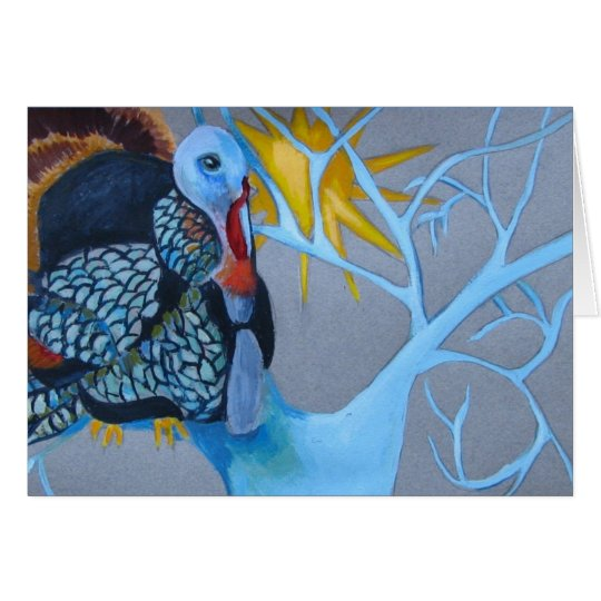 Holiday Bird Card