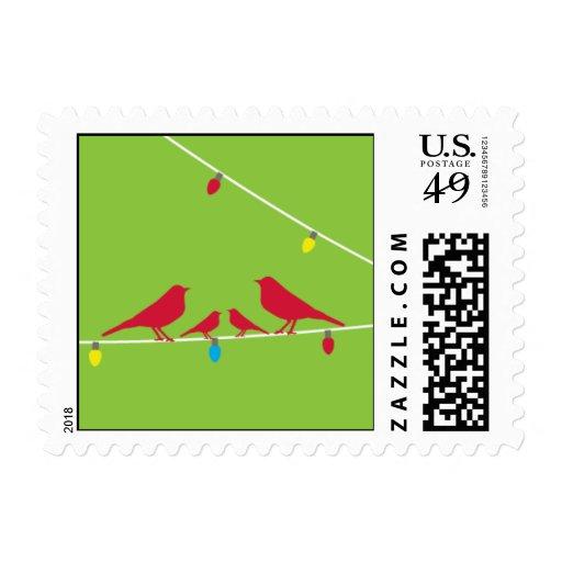 Holiday Birds Clover Stamp