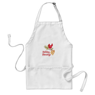 HOLIDAY BLESSINGS ADULT APRON