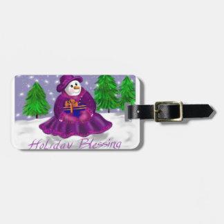 Holiday Blessings Bag Tag