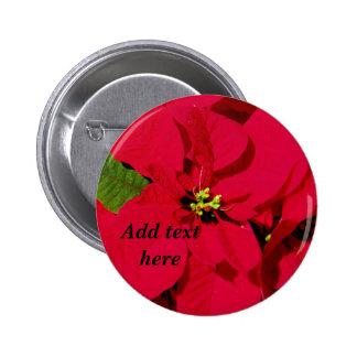 Holiday Blessings_ Pinback Button