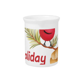HOLIDAY BLESSINGS DRINK PITCHERS