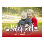 Holiday Blessings | Holiday Photo Postcard
