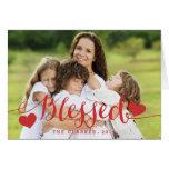 Holiday Blessings   Photo Holiday Greeting Card