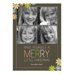Holiday Blooms Christmas Cards/Holiday Photo Cards Custom Invitations