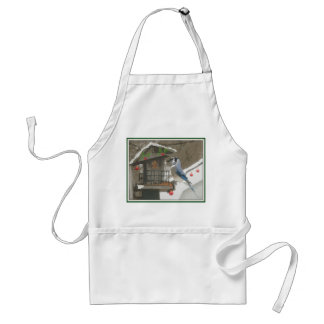 Holiday Bluejay Adult Apron