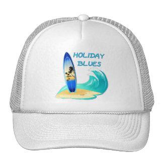 Holiday Blues Trucker Hat