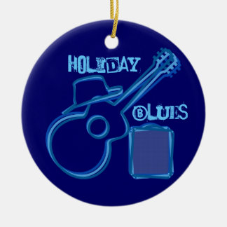 Holiday Blues Ornament