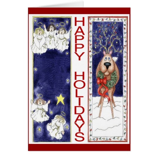 Holiday Bookmarks Card