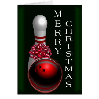 Holiday Bowling cards