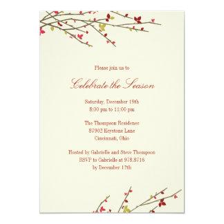 Holiday Branches Holiday Party Invitation Invites