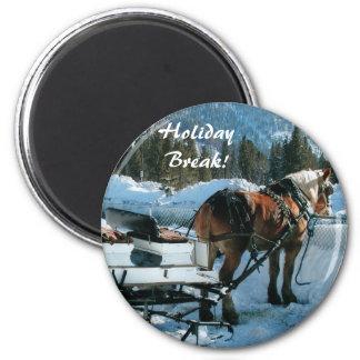Holiday  Break Magnet