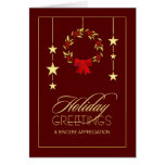 Holiday Business Appreciation Greeting Cards