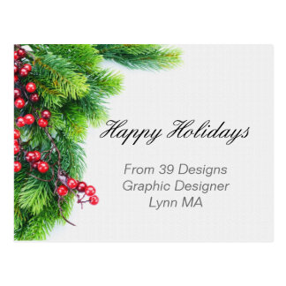 Holiday Business Postcards