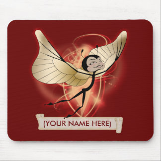 Holiday butterfairy mouse pad