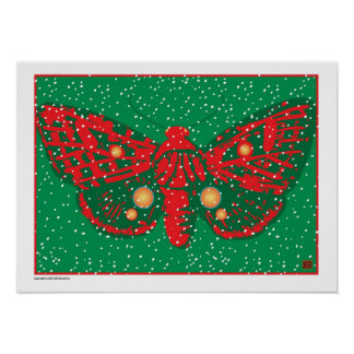 Holiday Butterfly 12-Print
