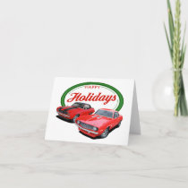 Holiday Camaros Card