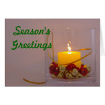Holiday Candle Card