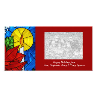 Holiday Candle Photo Cards