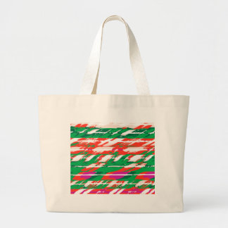 Holiday Candy Cane Tote Bag