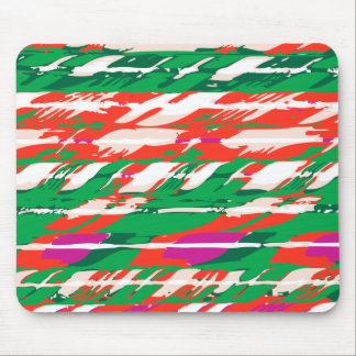 Holiday Candy Cane Mouse Pad